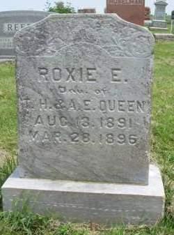 QUEEN, ROXIE EVA - Madison County, Iowa   ROXIE EVA QUEEN