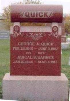 QUICK, GEORGE ARTHUR - Madison County, Iowa | GEORGE ARTHUR QUICK