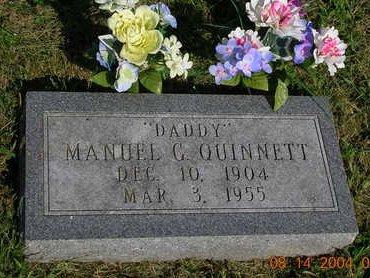 QUINNETT, MANUEL G. - Madison County, Iowa | MANUEL G. QUINNETT