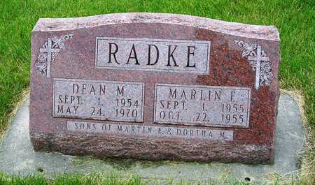 RADKE, MARLIN EUGENE - Madison County, Iowa | MARLIN EUGENE RADKE