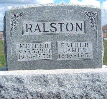 RALSTON, JAMES - Madison County, Iowa | JAMES RALSTON