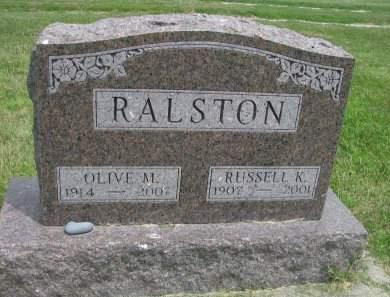 RALSTON, OLIVE MAY - Madison County, Iowa | OLIVE MAY RALSTON