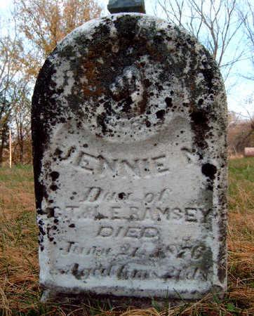 RAMSEY, JENNIE M. - Madison County, Iowa | JENNIE M. RAMSEY
