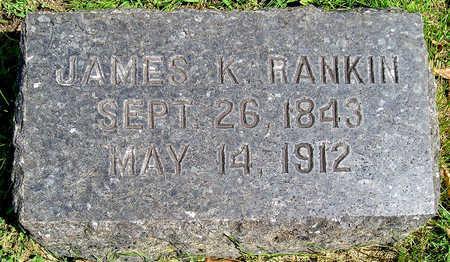 RANKIN, JAMES KNOX POLK - Madison County, Iowa   JAMES KNOX POLK RANKIN