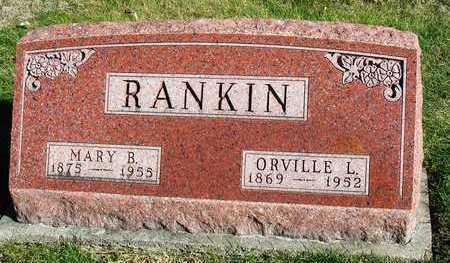 RANKIN, MARY B. - Madison County, Iowa | MARY B. RANKIN