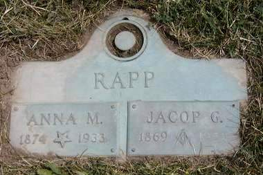 RAPP, JACOP G. - Madison County, Iowa | JACOP G. RAPP