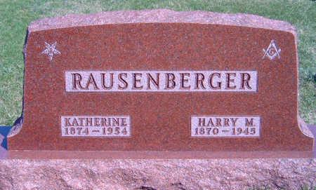 RAUSENBERGER, KATHERINE LUCINDA - Madison County, Iowa | KATHERINE LUCINDA RAUSENBERGER