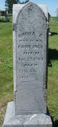 RAWLINGS, RHONDA C. - Madison County, Iowa | RHONDA C. RAWLINGS