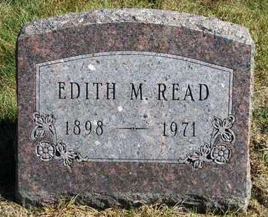 READ, EDITH MAE - Madison County, Iowa | EDITH MAE READ