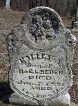 REDER, EMILY A. - Madison County, Iowa | EMILY A. REDER