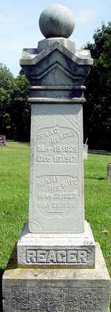 REAGER, MARY - Madison County, Iowa | MARY REAGER