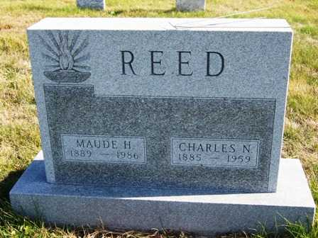 REED, MAUDE HATTIE - Madison County, Iowa | MAUDE HATTIE REED