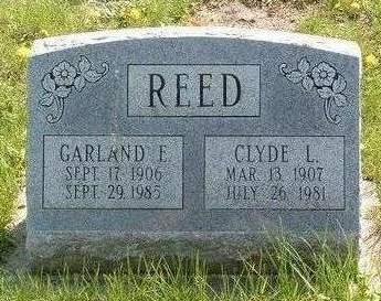 REED, GARLAND EDITH - Madison County, Iowa | GARLAND EDITH REED
