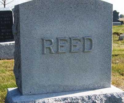 REED, FAMILY HEADSTONE - Madison County, Iowa   FAMILY HEADSTONE REED