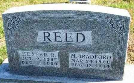 REED, HESTER B.