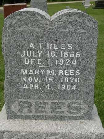 REES, MARY MARGARET - Madison County, Iowa | MARY MARGARET REES