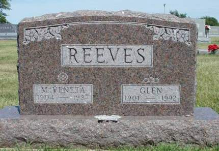 REEVES, MARY VENTA - Madison County, Iowa | MARY VENTA REEVES
