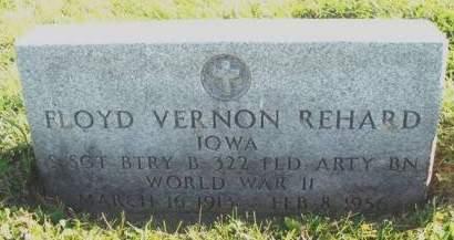 REHARD, FLOYD VERNON - Madison County, Iowa | FLOYD VERNON REHARD