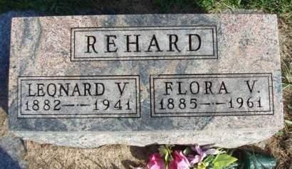 REHARD, LEONARD VERNON - Madison County, Iowa | LEONARD VERNON REHARD
