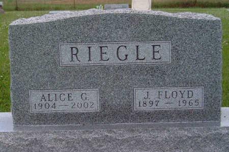 RIEGLE, JAMES FLOYD - Madison County, Iowa | JAMES FLOYD RIEGLE