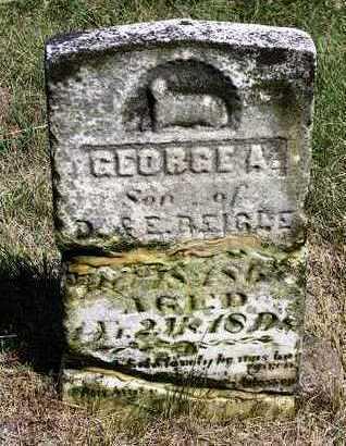 REIGLE, GEORGE A. - Madison County, Iowa   GEORGE A. REIGLE