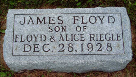 RIEGLE, JAMES FLOYD - Madison County, Iowa   JAMES FLOYD RIEGLE
