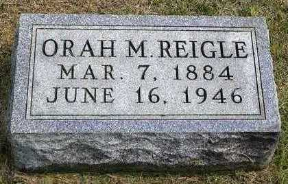 REIGLE, ORAH M. - Madison County, Iowa | ORAH M. REIGLE