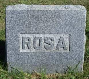 RENSHAW, SARAH ROSALIND (ROSA) - Madison County, Iowa | SARAH ROSALIND (ROSA) RENSHAW