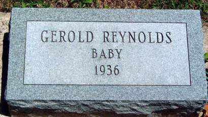 REYNOLDS, GERALD DEAN - Madison County, Iowa   GERALD DEAN REYNOLDS