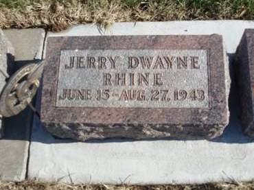 RHINE, JERRY DWAYNE - Madison County, Iowa   JERRY DWAYNE RHINE