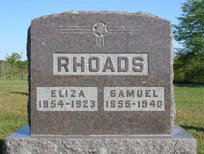 RHOADS, SAMUEL S. - Madison County, Iowa | SAMUEL S. RHOADS