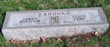 RHODE, ELIZA JANE - Madison County, Iowa | ELIZA JANE RHODE