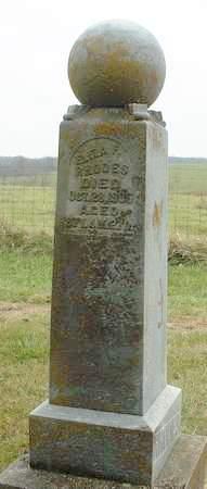 RHODES, ELIZABETH ANN FRANCES - Madison County, Iowa | ELIZABETH ANN FRANCES RHODES