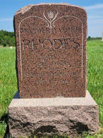 RHODES, MARIBA N. - Madison County, Iowa | MARIBA N. RHODES
