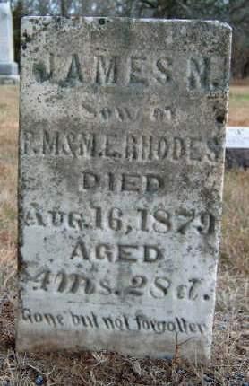 RHODES, JAMES NATHANIEL - Madison County, Iowa | JAMES NATHANIEL RHODES