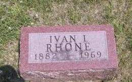 RHONE, IVAN IRVIN - Madison County, Iowa | IVAN IRVIN RHONE