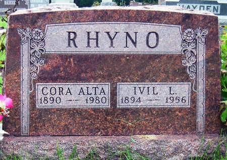 RHYNO, CORA ALTA - Madison County, Iowa | CORA ALTA RHYNO