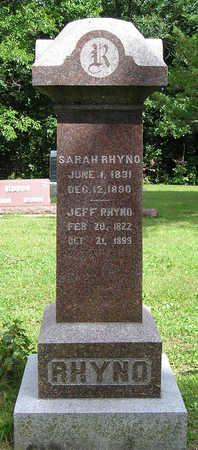 RHYNO, SARAH - Madison County, Iowa | SARAH RHYNO