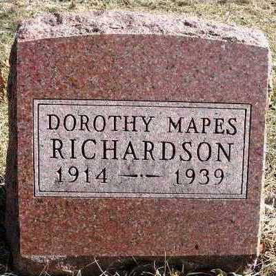 RICHARDSON, DOROTHY KATE - Madison County, Iowa   DOROTHY KATE RICHARDSON