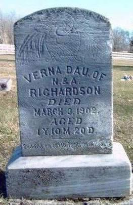 RICHARDSON, VERNA - Madison County, Iowa   VERNA RICHARDSON