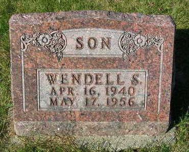 RIDOUT, WENDELL SAMUEL - Madison County, Iowa | WENDELL SAMUEL RIDOUT