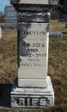 RIFE, JACKSON - Madison County, Iowa | JACKSON RIFE