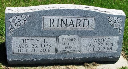 RINARD, CAROLD - Madison County, Iowa   CAROLD RINARD