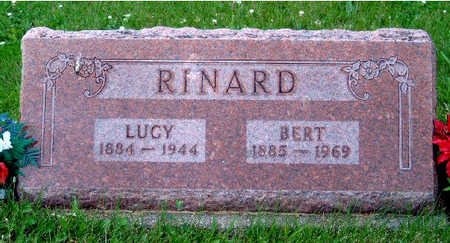 RINARD, LUCY JANE - Madison County, Iowa | LUCY JANE RINARD