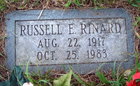 RINARD, RUSSELL EARL - Madison County, Iowa   RUSSELL EARL RINARD