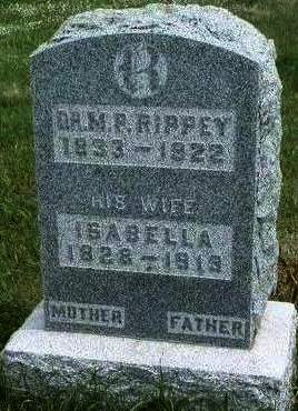 LOUDEN  RIPPEY, ISABELLA - Madison County, Iowa | ISABELLA LOUDEN  RIPPEY