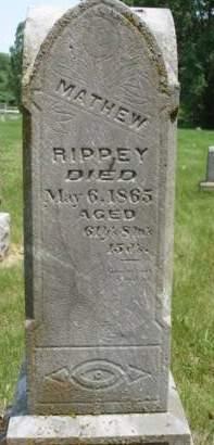 RIPPEY, MATHEW - Madison County, Iowa   MATHEW RIPPEY