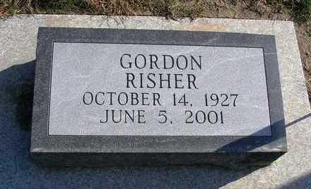 RISHER, GORDON - Madison County, Iowa   GORDON RISHER