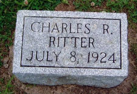 RITTER, CHARLES R. - Madison County, Iowa   CHARLES R. RITTER