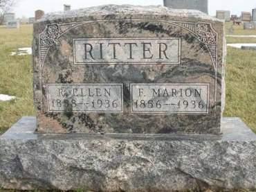 RITTER, RACHEL ELLEN - Madison County, Iowa | RACHEL ELLEN RITTER